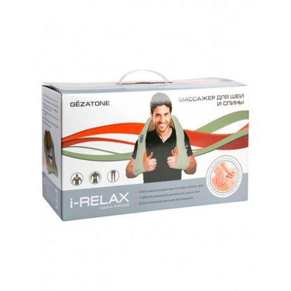 Массажер роликовый для тела, плеч и шеи IRelax AMG 395, Gezatone