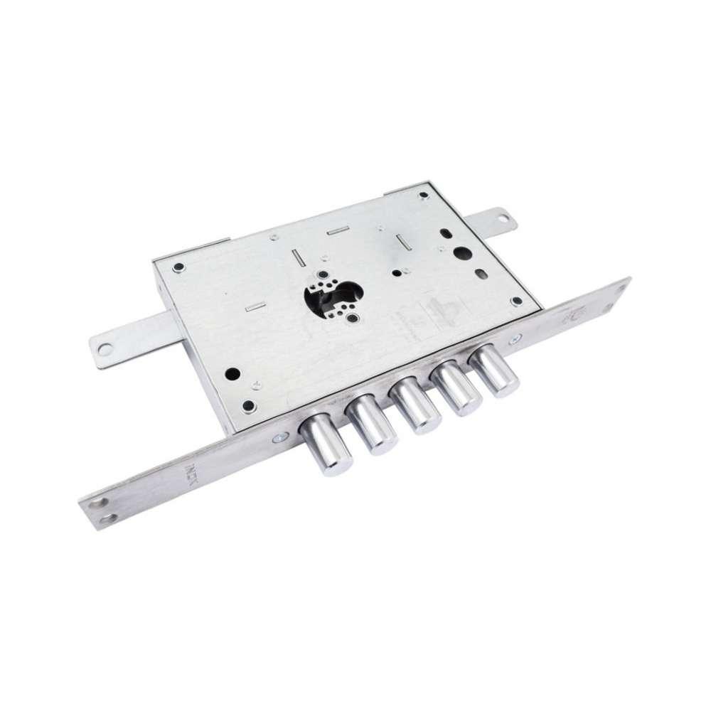 Механизм замка 5-ригельный под цилиндр Securemme 2613XCR0328CXX, мц 85мм