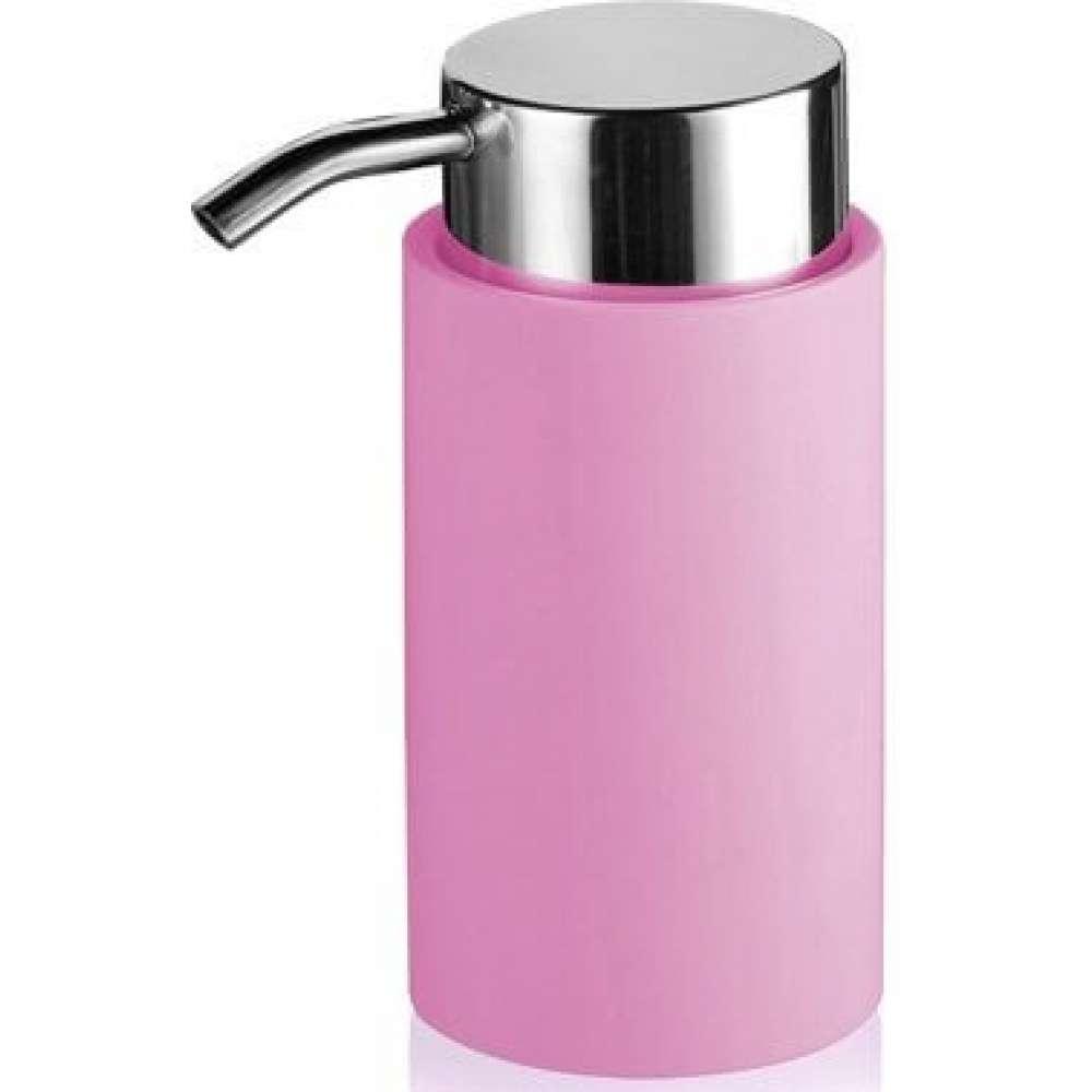 Дозатор жидкого мыла Trento Aquacolor, розовый (31034)