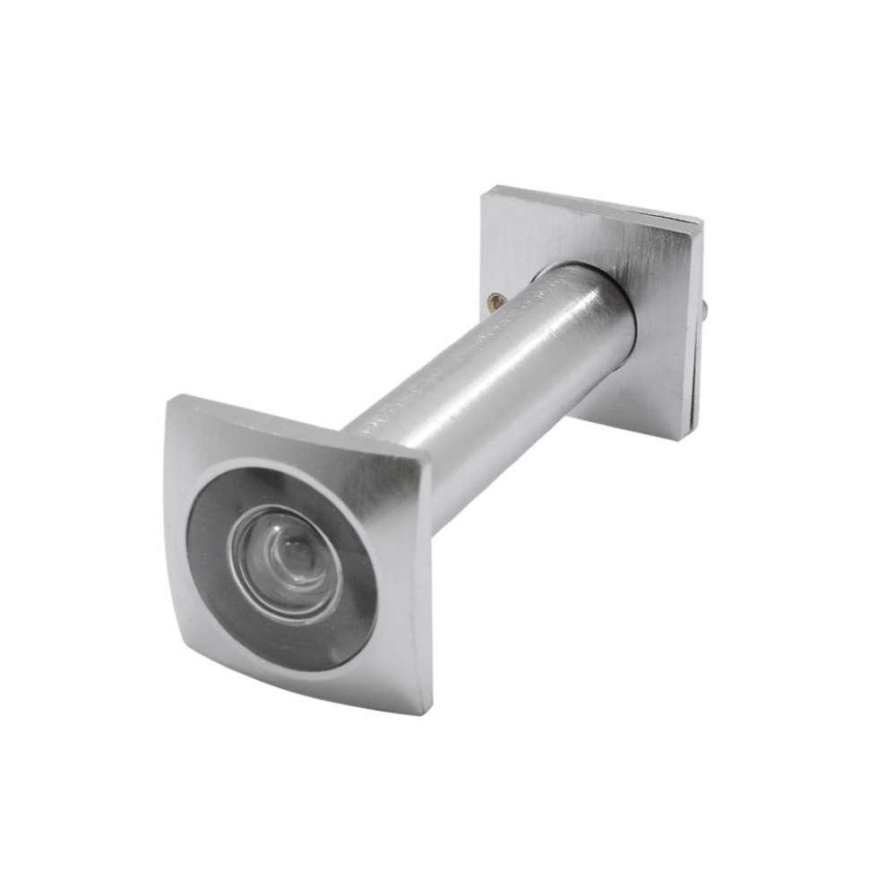Глазок Protect квадратный 70*110 хром матовый (53148)