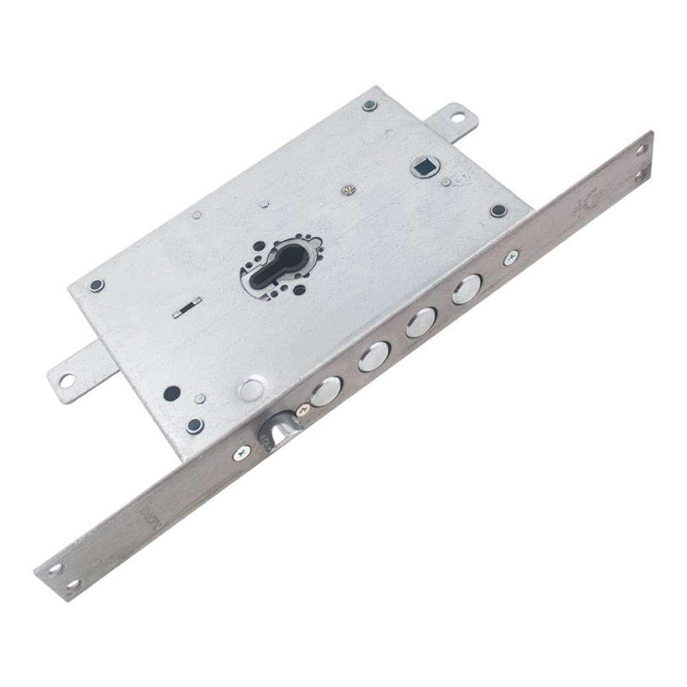 Механизм замка Securemme 2653SCR0328TXX 4-ригельный c защелкой под цилиндр мц 85мм