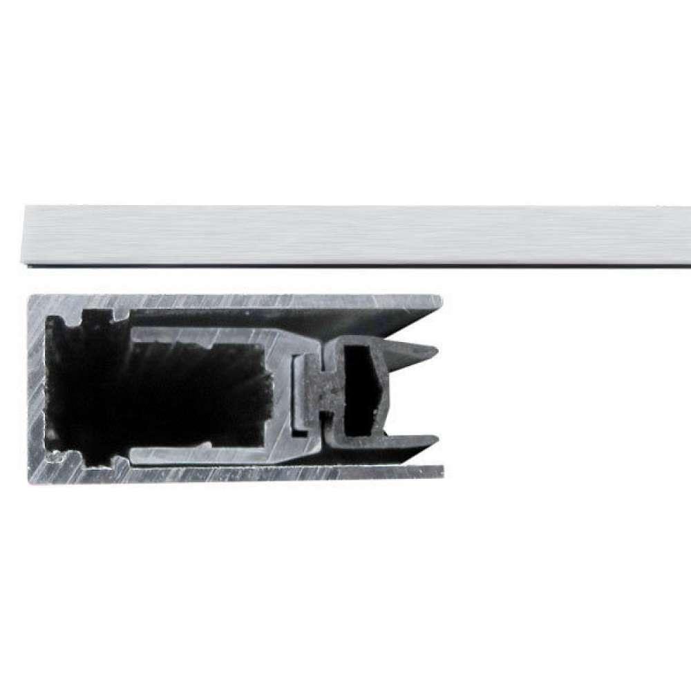 Порог противопожарный алюминиевый с резиновой вставкой Comaglio 420 (103-83см) (30407)