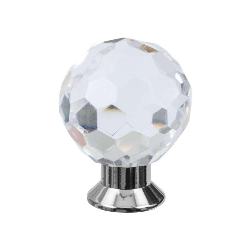 Кноб мебельный Salice Paolo Diamante 445BIS/С NL никель